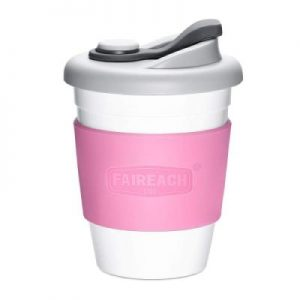 Taza de café Faireach - termo para llevar con tapa