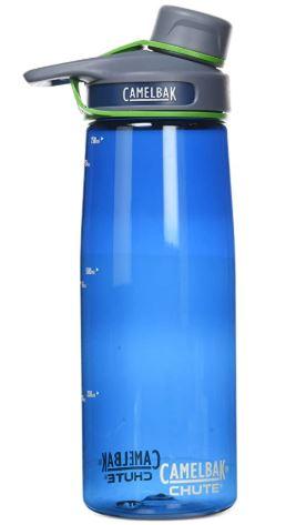 camelback chute botella agua
